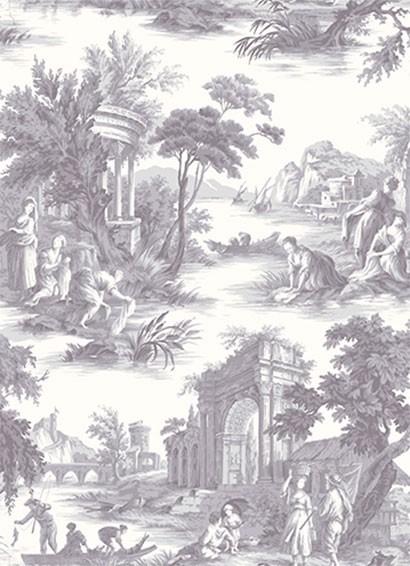 Tapete Villandry von Cole & Son - Charcoal