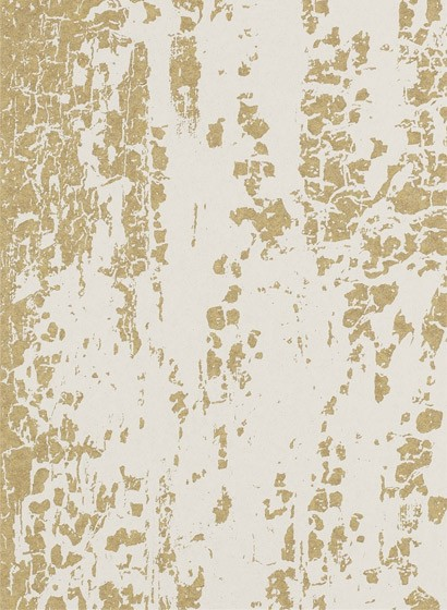 Streifentapete Eglomise von Harlequin - Gold
