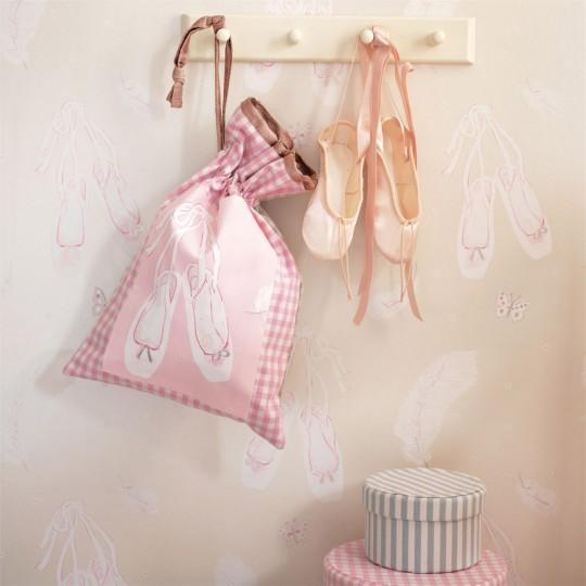 Ballet Shoes - Kindertapete von Sanderson