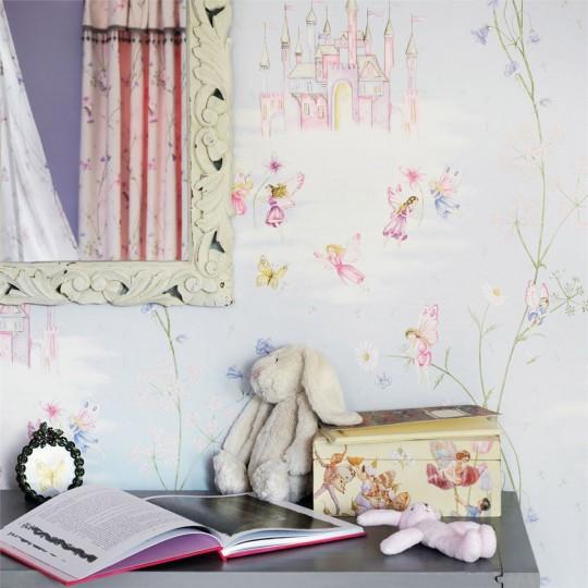 Fairy Castle - Kindertapete von Sanderson