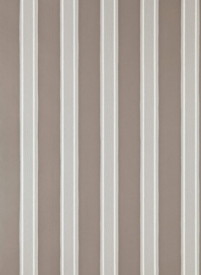 Tapete Block Print Stripe von Farrow & Ball - Charleston Gra
