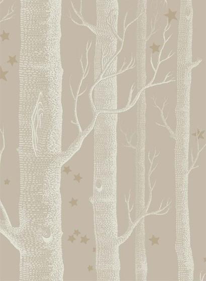 Tapete Woods & Stars von Cole & Son - Linen
