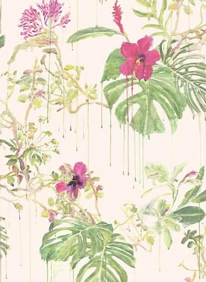 Sian Zeng Tapete Spring Wild Rain