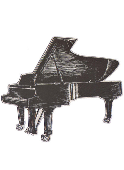 Magnet Piano von Sian Zeng