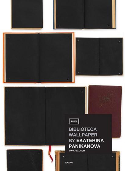 Tapete EKA-06 Bibliotheca von Ekaterina Panikanova