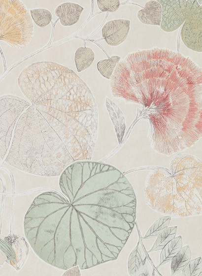 Tapete Dardanella von Harlequin - Amber/ Mint