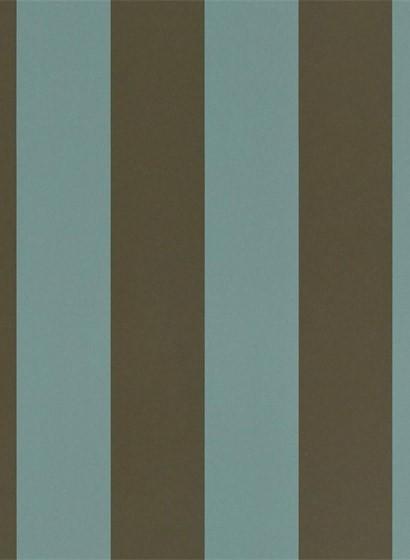 Ralph Lauren Tapete Spalding Stripe - Teal