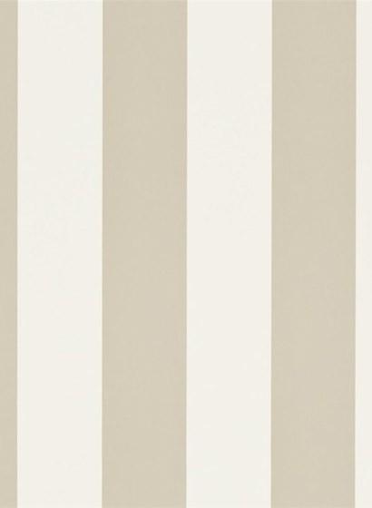 Ralph Lauren Tapete Spalding Stripe - Cream/ Laurel