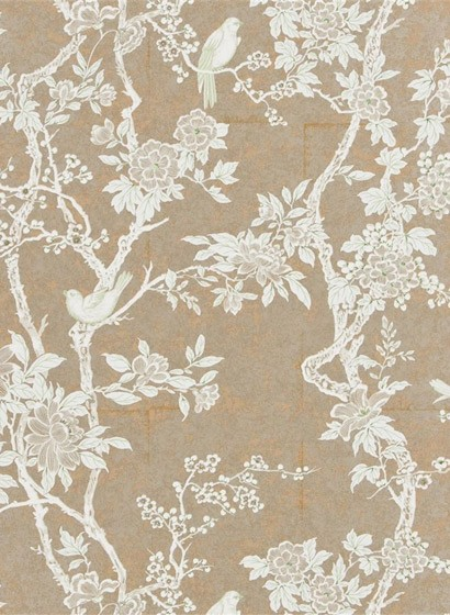 Tapete Marlowe Floral von Ralph Lauren - Sterling