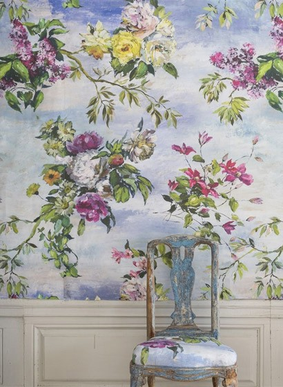 Digitales Wandbild Caprifoglio von Designers Guild
