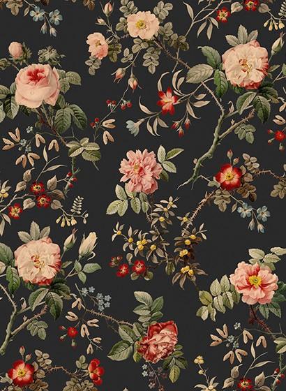 Wandbild Thorn Rose von Rebel Walls - Midnight