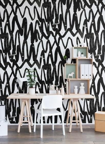 Wandbild Pulse of Passion von Rebel Walls