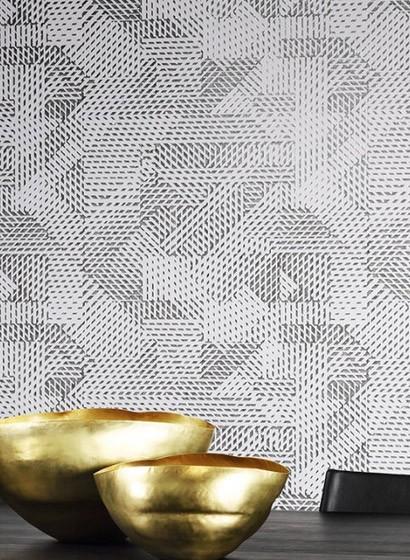 Geometrische Tapete Oblique von Arte