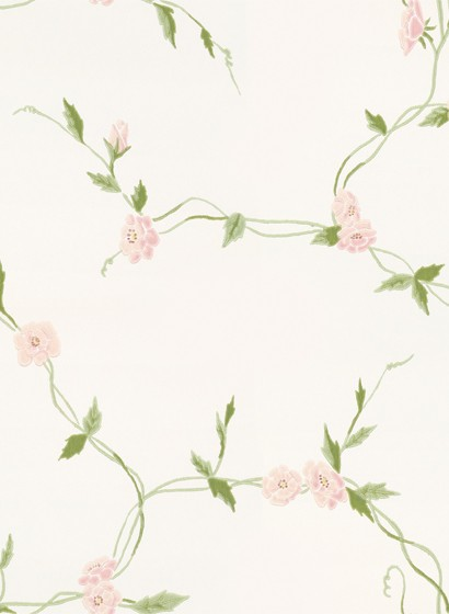 Blumentapete Levi von Sandberg - Light Pink