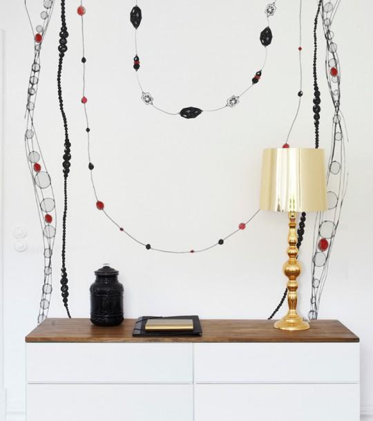 Wandbild Pieces of jewellery