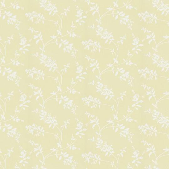 Florale Tapete Schersmin von Sandberg - Yellow/ White