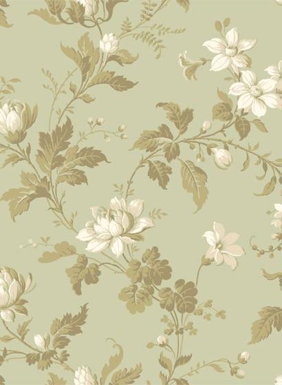 Blumentapete Blomslinga von Boras - 4518