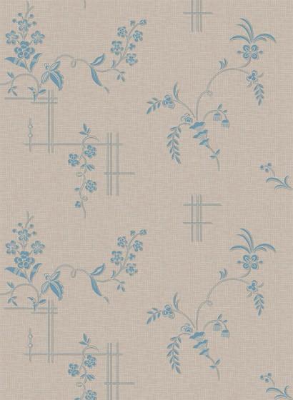 Florale Tapete Ulricehamn von Boras - 4550