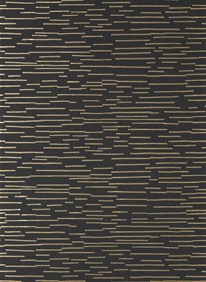 Tapete Sierra von Thibaut - Metallic Bronze on Black