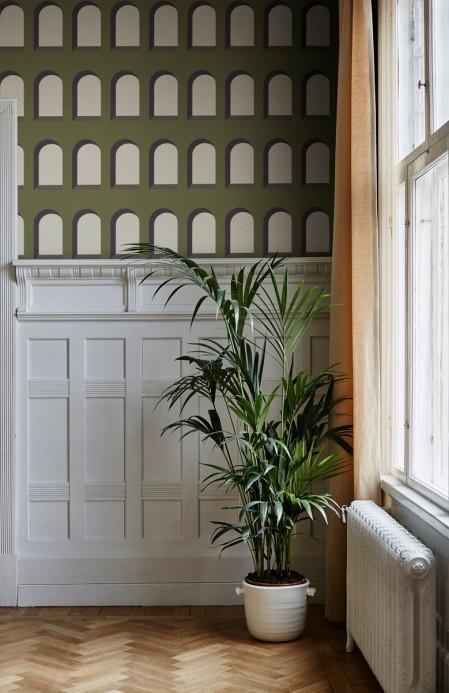 Bogenfenster Tapete Marie von Sandberg