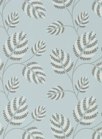 Florale Tapete Marbelle von Harlequin - Seaglass/ Silver