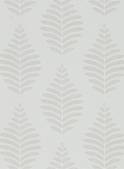 Blätter Tapete Lucielle von Harlequin - Putty/ Chalk