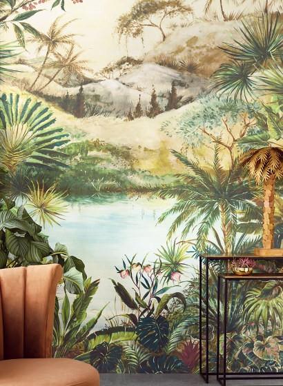 Exotisches Wandbild Tropical von Eijffinger - 384602