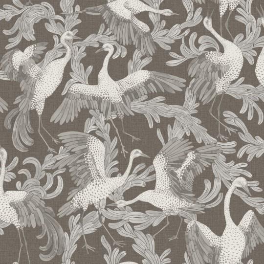Kranich-Tapete Dancing Crane von Engblad & Co