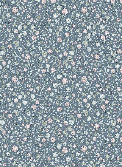 Florale Tapete Jasmine von Boras - 7466