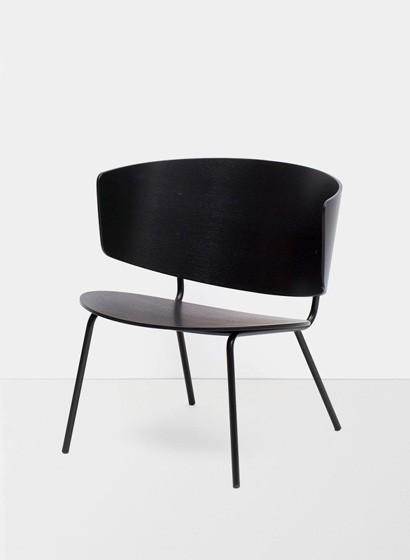 Ferm Living Herman Lounge Chair - Black