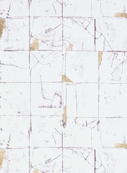 Fliesen Tapete Faenza Tile von Osborne & Little - Stone