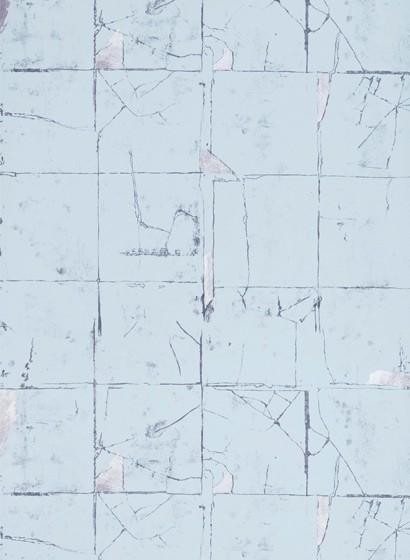 Fliesen Tapete Faenza Tile von Osborne & Little - Blue