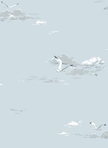Vogeltapete Seagulls von Boras - 8856