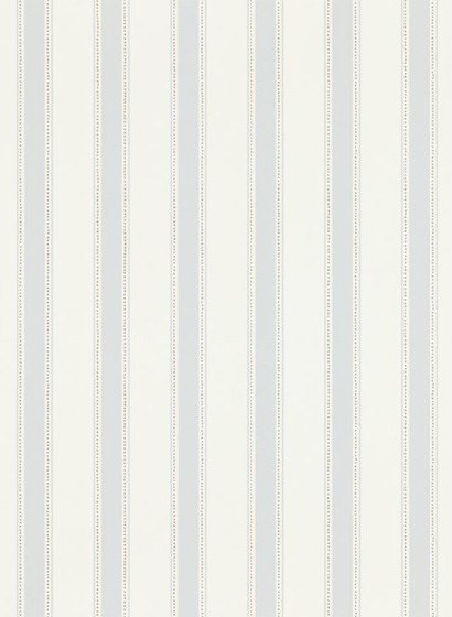 Streifentapete Gustav von Sandberg - Light Blue