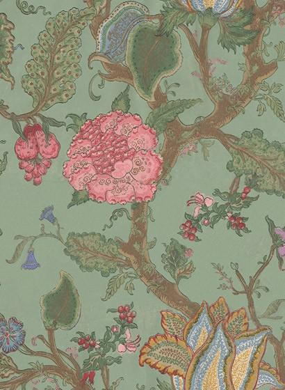 Blumentapete Growing Wilderness von Rebel Walls - Verdant