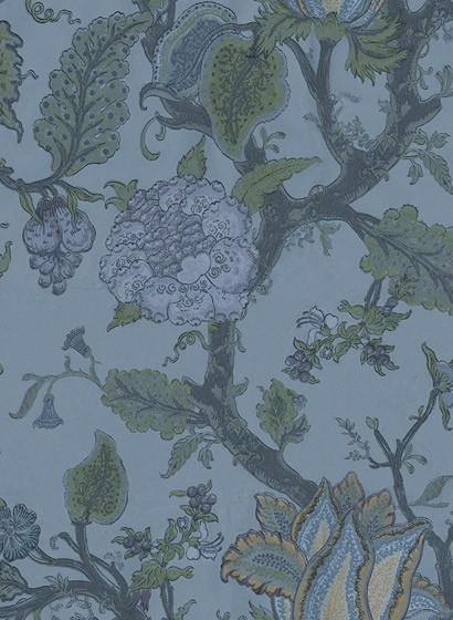 Blumentapete Growing Wilderness von Rebel Walls - Midnight