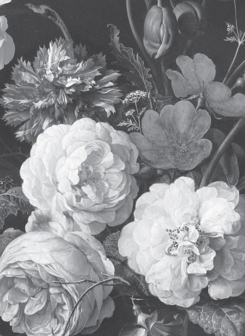 KEK Amsterdam Wandbild Golden Age Flowers 6 - 3.896m