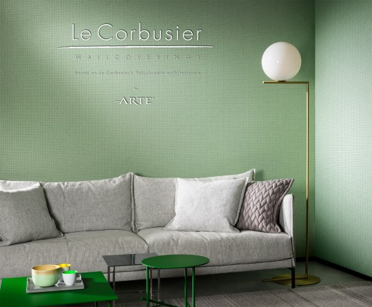 Arte Le Corbusier Tapete Dots