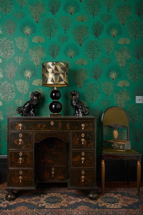 Tapete Seafern von Cole & Son - Emerald